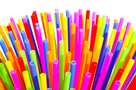 Long plastic tube, stick a variety of colors.