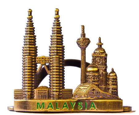 Twin Towers is a small souvenir from Malaysia.