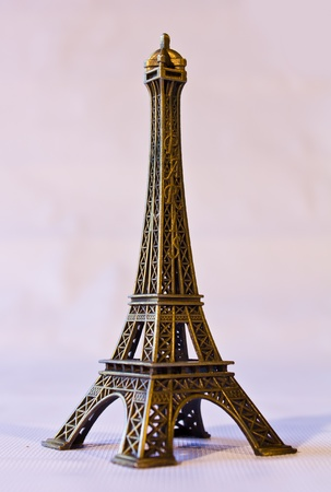 Eiffel Tower minimized. As souvenirs. photo