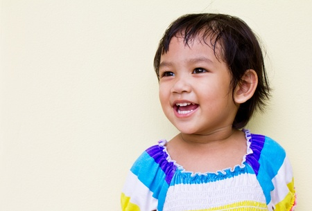 Thai children smile bright and natural. Stock Photo - 10875017