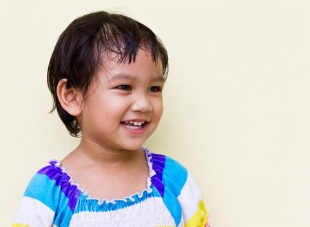 Thai children smile bright and natural. Stock Photo - 10869404