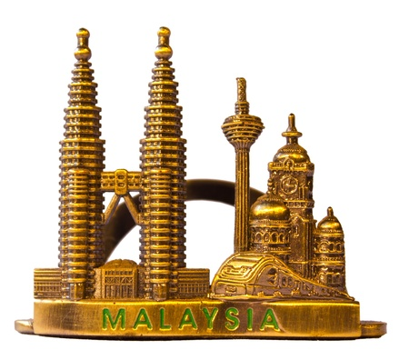 Twin Towers is a small souvenir from Malaysia. photo