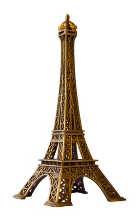 Eiffel Tower minimized. As souvenirs. Stock Photo - 11052534