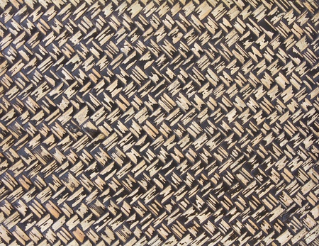 Surface of a container made ??of bamboo basketry. Stock Photo - 12145432
