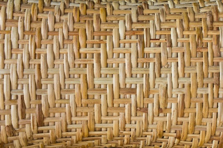 Surface of the pillow is made from bamboo weaving. Stock Photo - 12420042