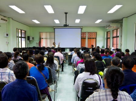 Training seminars for Thai people in the local council directors elected