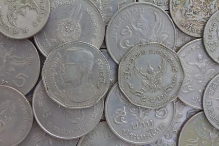 Thai Münzen Glas Eimer Lizenzfreie Fotos Bilder Und Stock