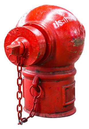 Isolate Fire Protection Pipe is the old red dirt and rust  photo