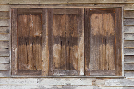barnwood: Texture background old wooden windows of a house, which weathered a long time.