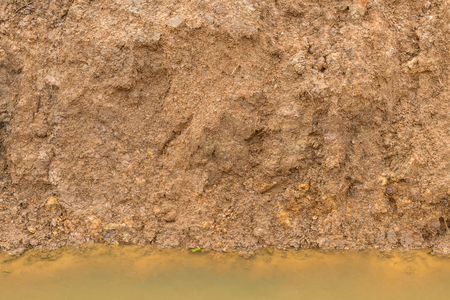 dug: Close-surface underground slides, which dug a pit in preparation for downstream water canals.