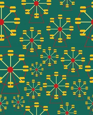 big top: seamless circus background  vector illustration