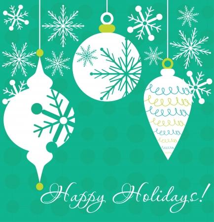 happy new year card design  vector illustration Stock Vector - 19252221