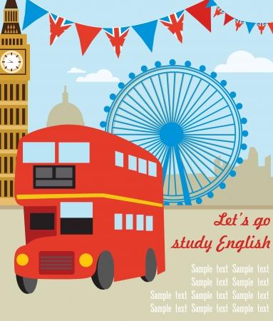 city of westminster: London card design. vector illustration Illustration