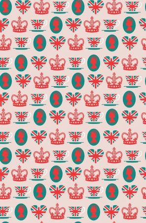 royal guard: London card design  vector illustration