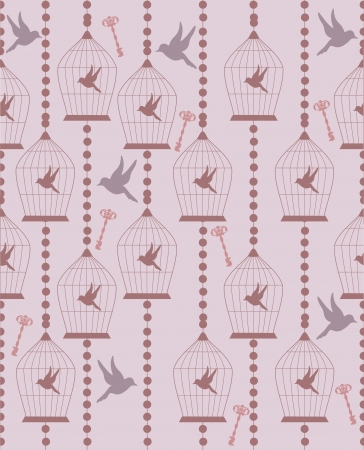 vintage seamless pattern  vector illustration Vector
