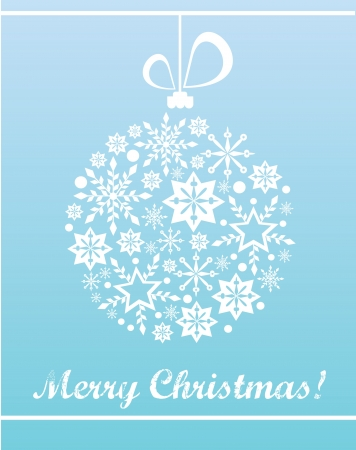 Merry Christmas card design  vector illustration
