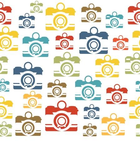 retro pattern design. vector illustration Vector