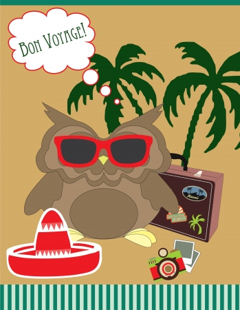 cute greeting card gesign. vector illustration Vector