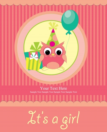 baby shower card design  vector illustration Vector