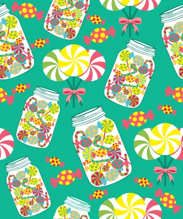 sweet pattern. vector illustration Vector