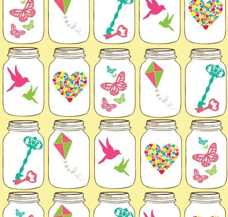 love pattern design. vector illustration Vector