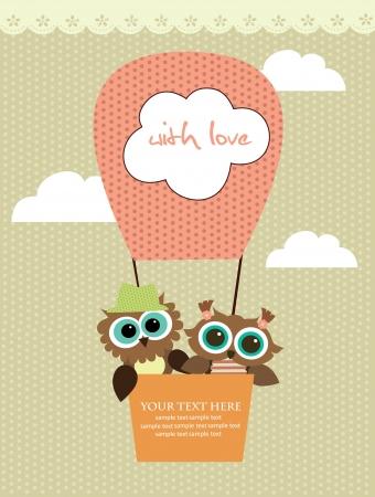 baby girl cartoon: cute card design. vector illustration