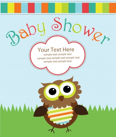 baby shower design. vector illustration Vector