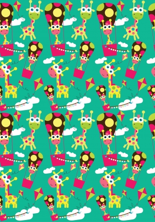 cute baby pattern design  vector illustration Vector
