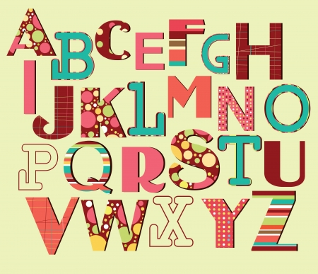 blackmail: alphabet design  vector illustration