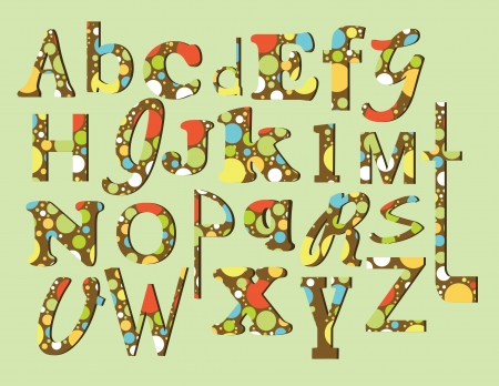 alphabet design  vector illustration Stock Vector - 20195666