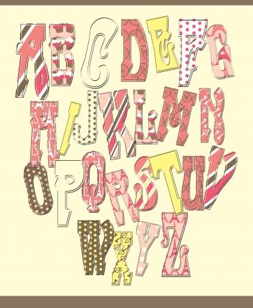 alphabet design  vector illustration Stock Vector - 20190715