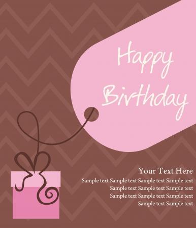 persona alegre: feliz cumpleaños ilustración de tarjetas de felicitación