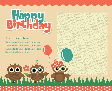 Happy birthday invitation card design vector illustration royalty 26903661 happy birthday invitation card design vector illustration stopboris Gallery