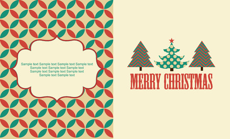 cute christmas: cute christmas card design. vector illustration Illustration