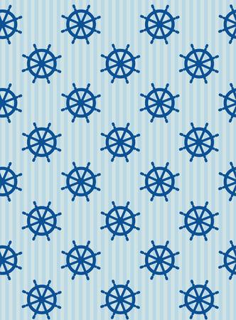 ahoy: sea seamless pattern design. vector illustration