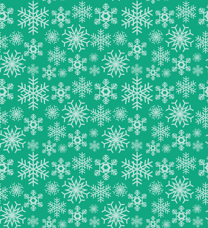 lining: seamless snowflake pattern design. vector illustration Illustration