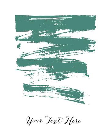 brush stroke: Colorful vector watercolor brush stroke Illustration