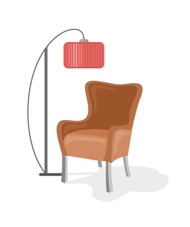 Armchair. Vector illustration Illustration