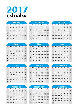 planner: 2017 Calendar Planner Design.