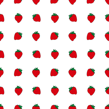 Abstract strawberry background