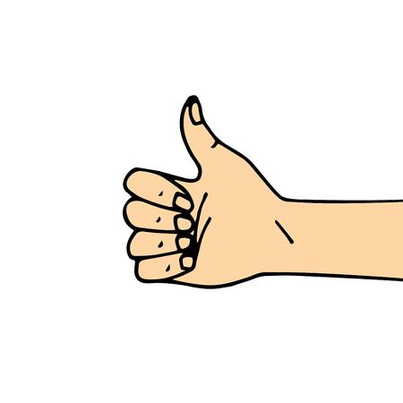 thumb up Çizim