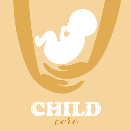 Conceptuele achtergrond van het embryo.