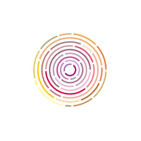 渦環状線背景を抽象化します。デザインのベクトル図 写真素材 - 84784033