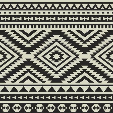 seamless ethnic pattern design Vector Illustration