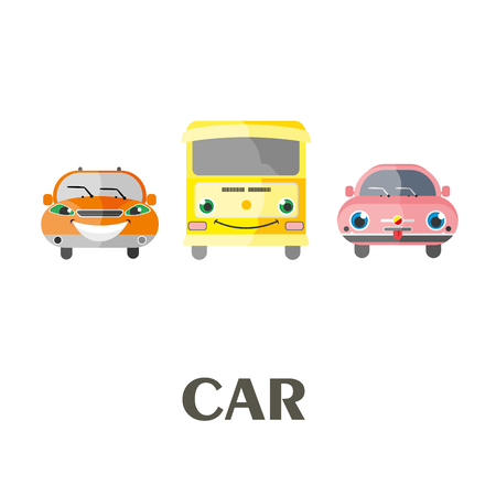 Car. Vector Illustration Illustration