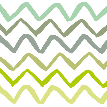 Horizontal lines stripes pattern or background with wavy. Vector Illustration