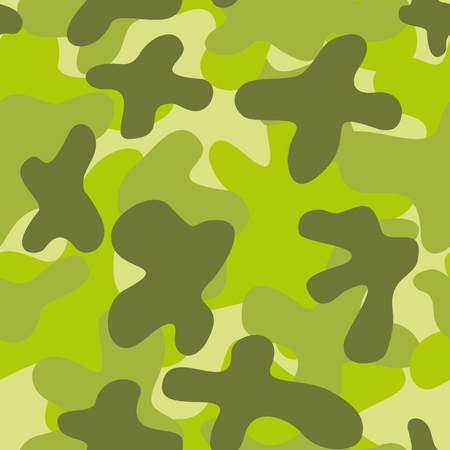 Military camouflage seamless pattern. Vector Illustration