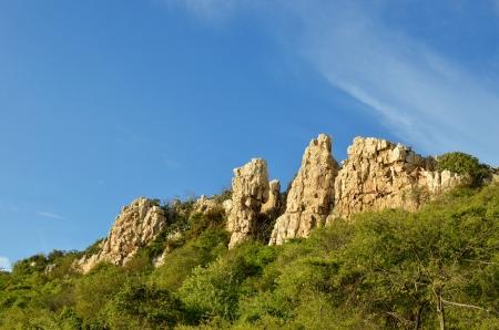 Rock Cliff. Stock Photo
