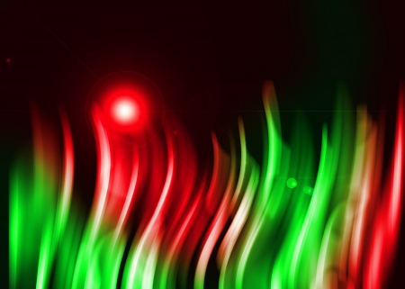 Colorful aura light abstract on black background Stock Photo - 16327213