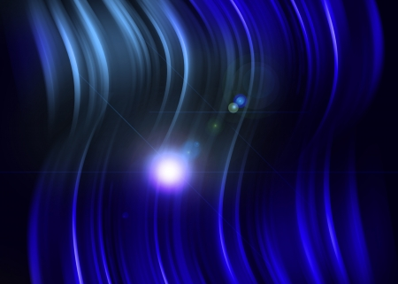 Blue light abstract background Stock Photo